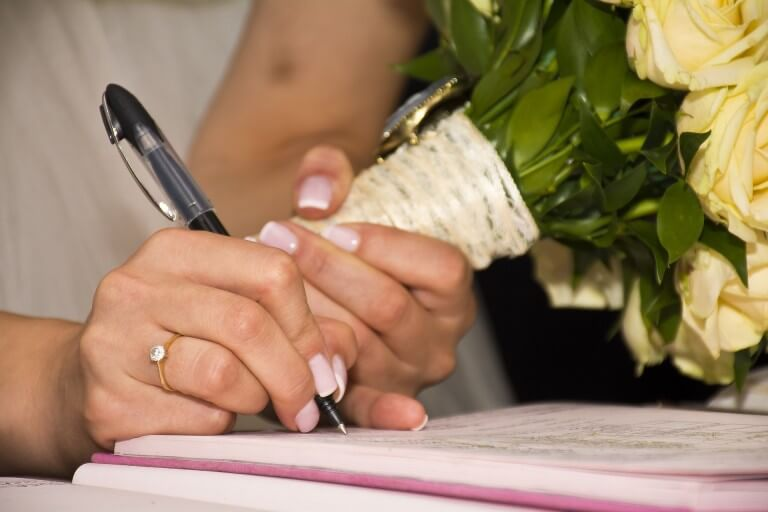 Sign a prenup before you get married