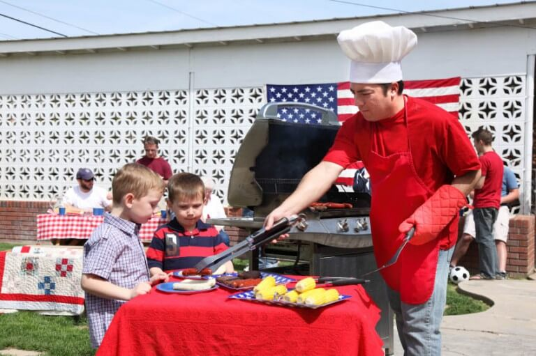 A fun and frugal Fourth of July bash