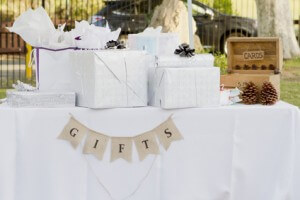 Wedding gift etiquette on a budget