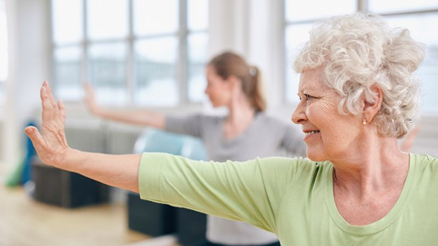 Seniors take action to stay healthy