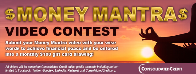 Enter to win with your money mantra!