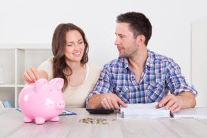 Build your budget together and plan in savings
