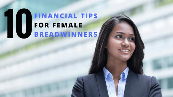 10 financial tips for female breadwinners